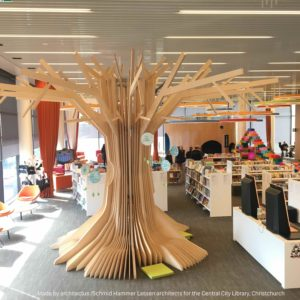 Quantumcad powered by Vectorworks used to build the book tree