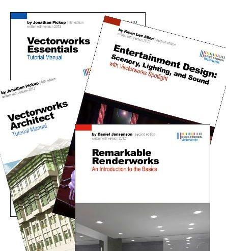 Vectorworks Printed Self Paced Tutorials - Legacy Versions